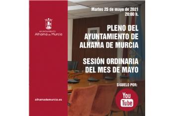 Convocatoria de Pleno: sesión ordinaria » martes 25 de mayo de 2021