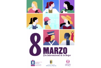 Programación para el Día Internacional de la Mujer 2021. Del 8 al 11 de marzo