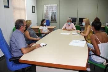 La Alcaldesa traslada a la Comunidad Autónoma que la ampliación de las instalaciones sanitarias de Alhama