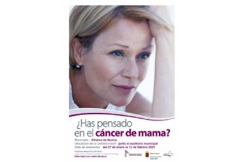 Pruebas de prevención del Cáncer de Mama: del 27 de enero al 12 de febrero de 2021