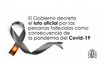 El Gobierno declara diez días de luto oficial en todo el país por los fallecidos por Covid-19