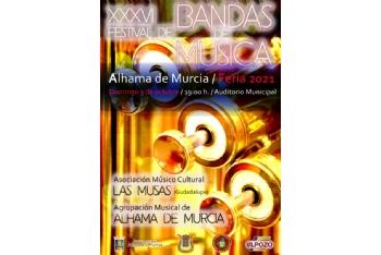 XXXVI Festival de Bandas de Música de Alhama: 3 de octubre de 2021