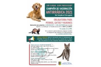 Presentación campaña vacunación antirrábica y microchip