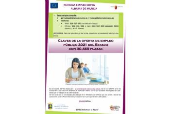 Boletín semanal del centro de empleo para jóvenes (30-07-2021)