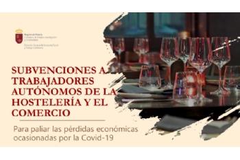 Subvenciones a trabajadores autónomos de hostelería y comercio por la Covid-19