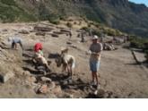 Este mes regresan los campos de trabajo a los yacimientos de El Murtal y Las Paleras