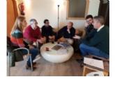 El Gobierno local se reúne en León con el consultor Antonio Freire para definir el nuevo centro termal de Alhama