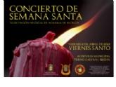 El Concierto de Semana Santa 2021 de la Agrupación Musical será el próximo Viernes Santo