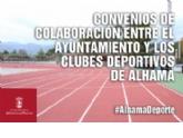 La concejalía de Deportes renueva su convenio con los clubes para la cesión de las instalaciones municipales