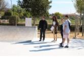 El nuevo skate park de Alhama abrirá en unas semanas