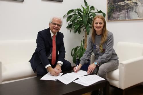 Firma convenio con Fundación Laboral de la Construcción
