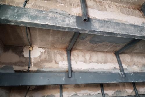 Recepción del auditorio municipal tras rehabilitación de las gradas