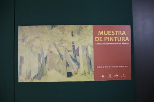 Muestra de pintura. Colección Ayuntamiento de Alhama en el Museo Arqueológico Los Baños