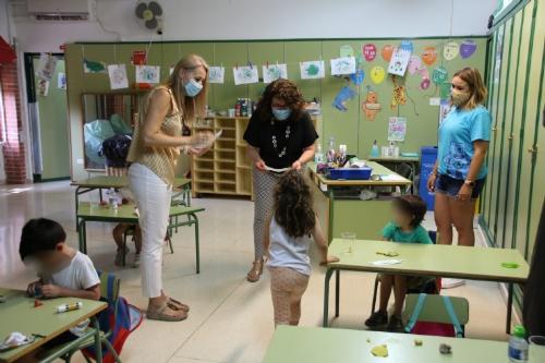 Visita Escuela de conciliación