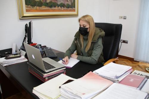 Videollamada con la  Federación de Municipios y con la Federación de Bandas de Música de la Región de Murcia