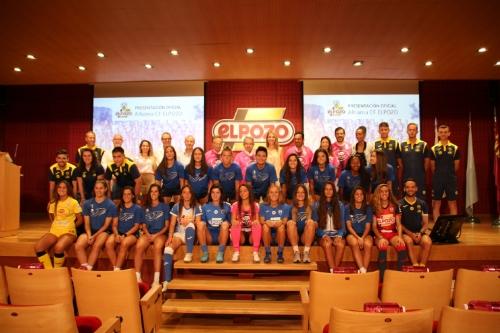 Presentación ElPozo Alimentación patrocinador Alhama CF Femenino