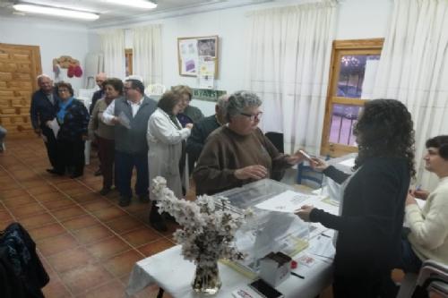 Votación Presupuestos Participativos en las pedanías