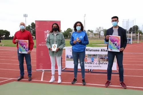 Presentación trofeo de pruebas combinadas atletismo Los Mayos