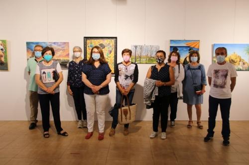 Exposición de pintura taller alumnos de José Hermosilla