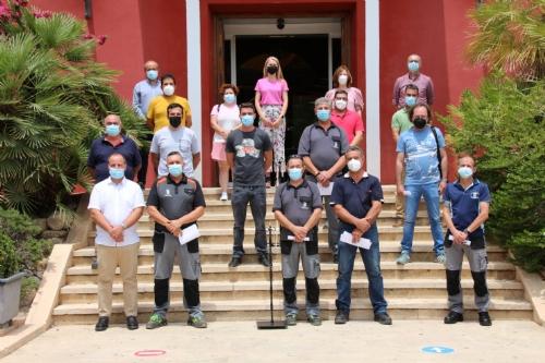 Toma de posesión 14 trabajadores