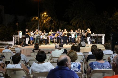 Música en los jardines - Musicos de Sonata y La Costera y la Edad de Oro