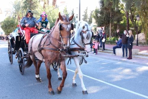 Llegada de SSMM Los Reyes Magos a Alhama