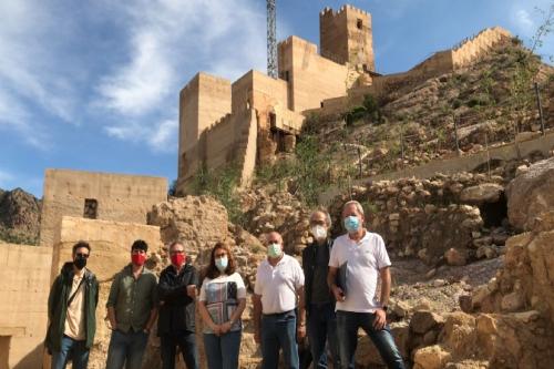 Firma del acta Proyecto del Castillo