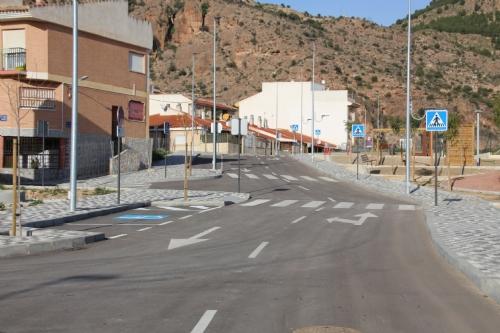 Apertura nuevo vial barrio de Los Dolores