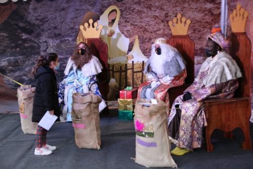 Recepción Reyes Magos de Oriente