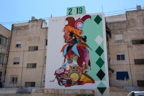 Los Mayos 2019 Mural de Murfy
