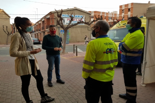 Regreso ambulancia a Alhama