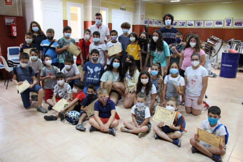 Clausura talleres musicales de verano Escuela de Música