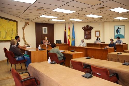 Reunión organizativa por el día de Los Santos 2020