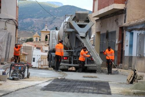 Obras Barrio de Los Dolores