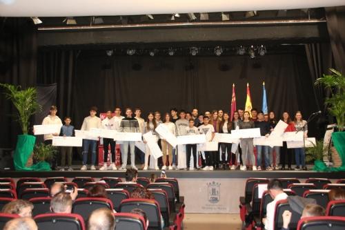 Gala Entrega becas a los deportistas alhameño