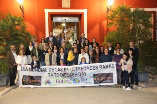 Acto de apoyo institucional con motivo del Día Internacional de las Enfermedades Raras