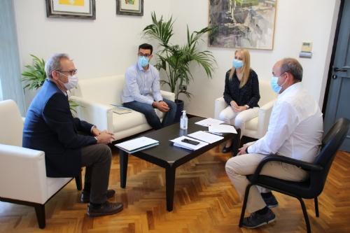 Visita Director General de Medio Ambiente Francisco Marín