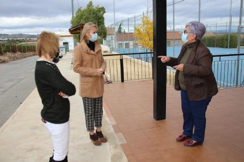 Visita Mariola y Eva al Cañarico y a La Costera