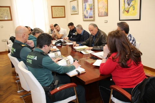 Reunión de coordinación Semana Santa