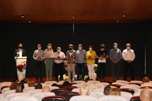 Entrega de premios del 53º Concurso Exposición de Uva de Mesa y productos agrarios Bajo Guadalentín
