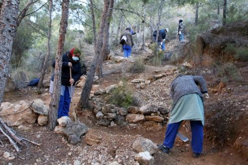 Visita consejos comarcales en la Muela