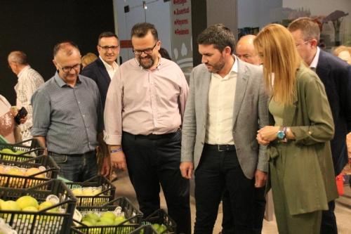 Inauguración Exposición uva de mesa y productos agrarios del Bajo Guadalentín