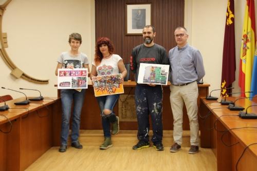 Entrega de premios II Concurso mural grafiti arte urbano