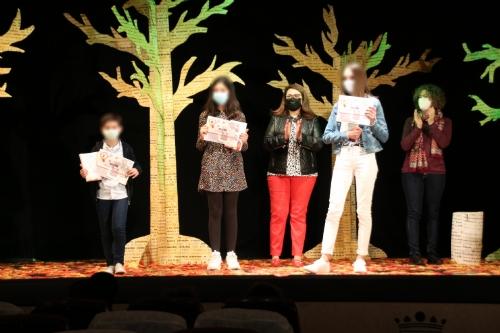 Entrega de premios del XXXIII Concurso infantil de cuentos José Calero Heras 2021