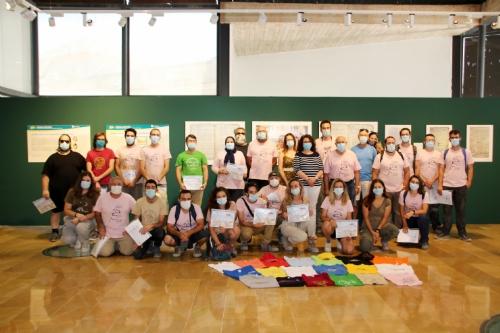 Entrega de diplomas campos de trabajo Las Paleras y El Murtal 2020
