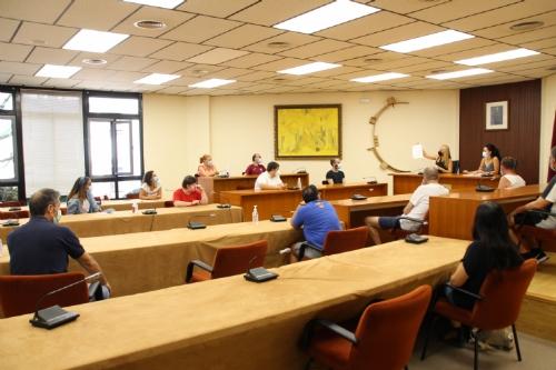 Presentación club deportivos multidisciplinar del centro de día de Las Salinas