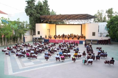 Concierto de Verano de la banda titular de la Agrupación Musical de Alhama de Murcia