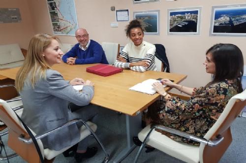 Reunión con la directora general de Movilidad
