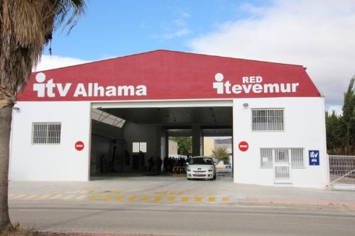 Inauguración ITV Alhama