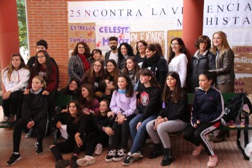 Acto 25N Comité Feminista IES Miguel Hernández